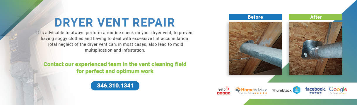 Dryer Vent Repair