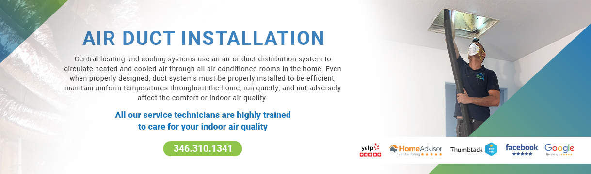 Air Duct Installation
